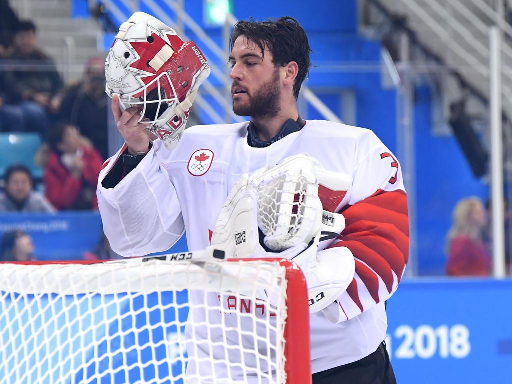 Die Kanadier mussten sich bei Olympia mit Bronze zufrieden geben