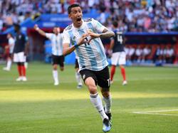 Pese al golazo de Di María, Argentina está fuera del Mundial. (Foto: Getty)