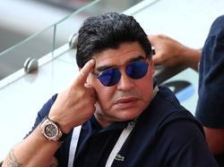 Diego Maradona en el pasado Mundial de Rusia. (Foto: Getty)