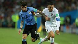 Nahitán Nández konnte sich mit Uruguay bei der WM mit den Besten messen