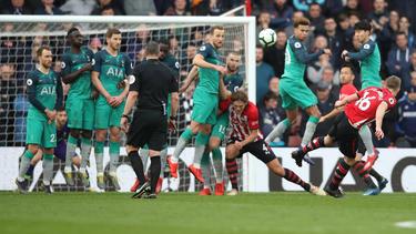 Tottenham gab das Auswärtsspiel beim FC Southampton aus der Hand