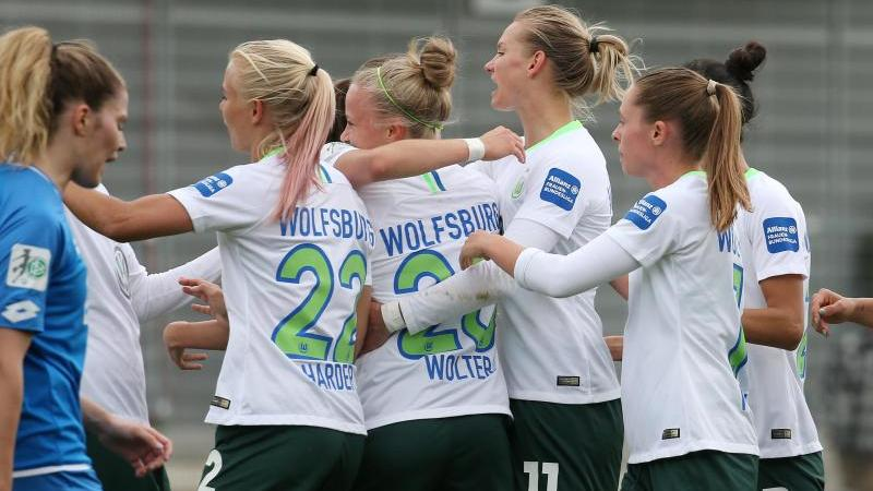 Der VfL Wolfsburg sicherte sich mit dem Sieg in Hoffenheim den Titel