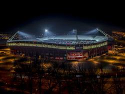 Het AFAS Stadion van AZ Alkmaar. (07-12-2016)