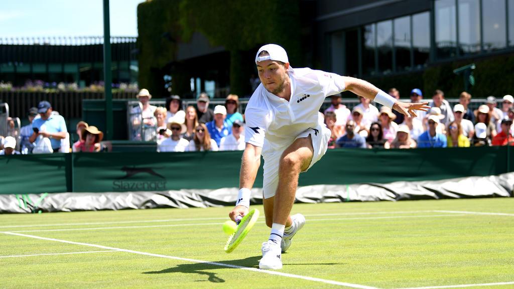 Jan-Lennard Struff ist als letzter Deutscher in Wimbledon ausgeschieden