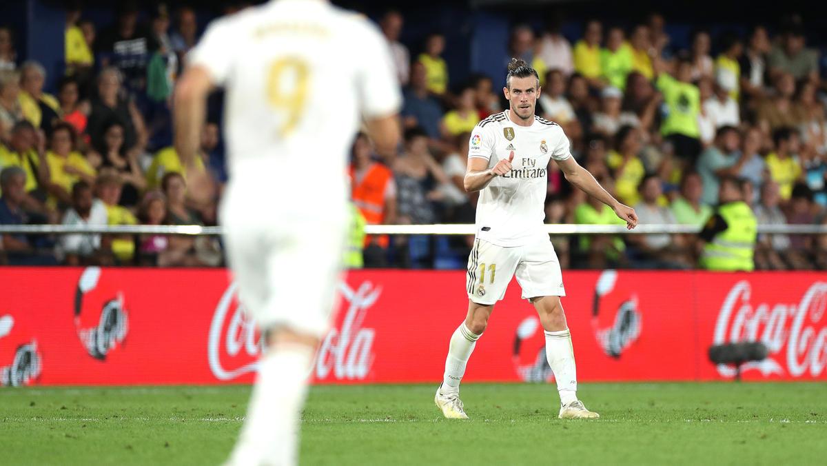Gareth Bale traf doppelt für Real Madrid - und sah Gelb-Rot