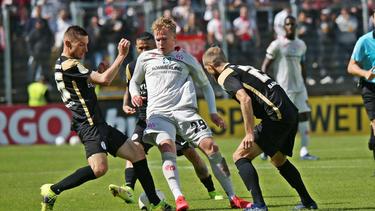 Mainz 05 musste gegen Elversberg über die volle Distanz gehen