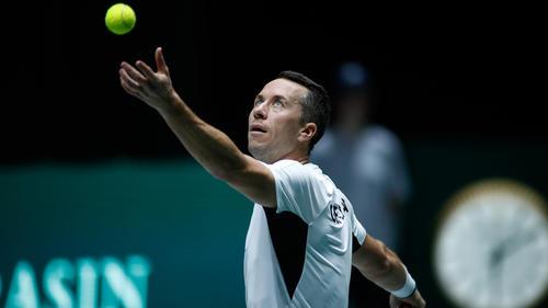 Philipp Kohlschreiber verlor sein Match in drei Sätzen