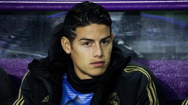 James Rodríguez lief zwei Jahre für den FC Bayern auf