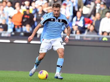 Ciro Immobile, estrella de la Lazio de Roma.