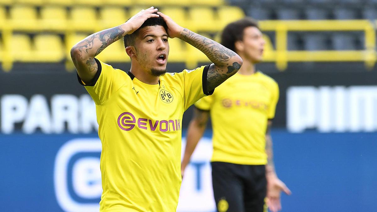 Jadon Sancho steht beim BVB in der Kritik