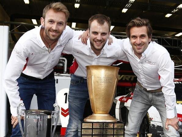Rene Rast gewann in Spa zusammen mit Laurens Vanthoor und Markus Winkelhock