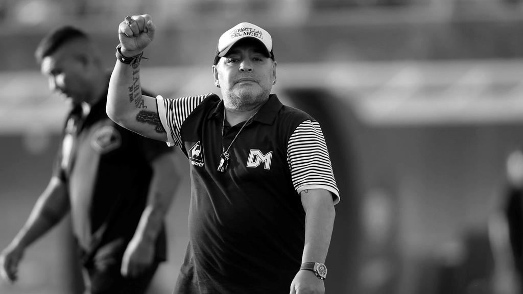 Diego Maradona ist im Alter von 60 Jahren verstorben