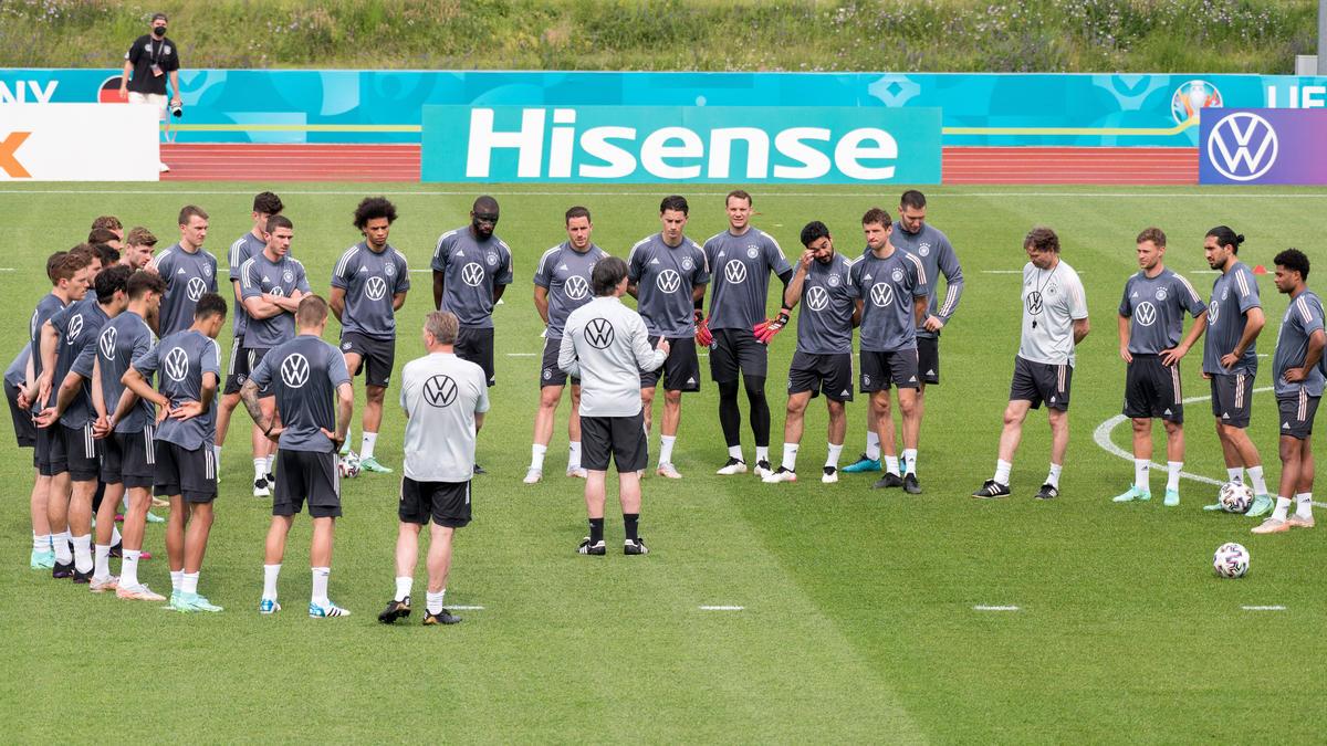 Das DFB-Team spielt gegen Ungarn