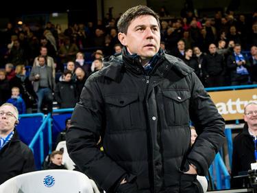 Roda JC-trainer Darije Kalezić keert voor even terug op De Vijverberg. Hij stond in het verleden anderhalf jaar aan het roer bij De Graafschap. (11-03-2016)