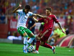 Alberto Moreno machte als Linksverteidiger ein gutes Spiel