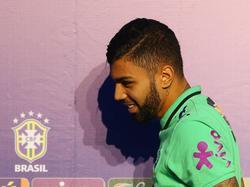 Gabriel Barbosa firmó finalmente por el Inter de Milan donde ya juega. (Foto: Imago)