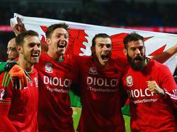 Wales feiert seine EM-Qualifikation