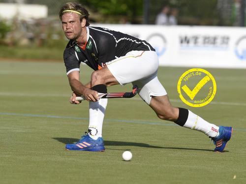 Moritz Fürste ist Kapitän des deutschen Hockeyteams