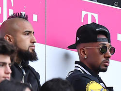 Arturo Vidal (l) is a major doubt for Bayern Munich's Champions League semi-final against Real Madrid