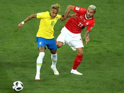 Die Schweiz erkämpfte sich im ersten Gruppenspiel ein 1:1 gegen Brasilien