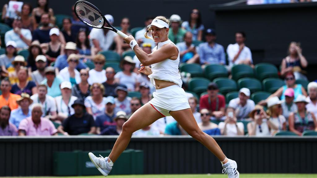 Angelique Kerber trifft im Achtelfinale von Wimbledon auf Belinda Bencic