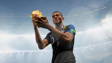Kylian Mbappé war einer der großen Stars bei der WM