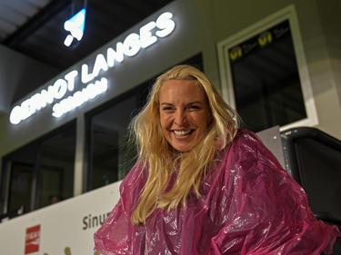 WSG-Präsidentin Diana Langes Swarovski hat allen Grund zur Freude