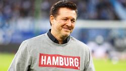 Rechnet mit dem Bundesliga-Aufstieg für den Hamburger SV:Ex-HSV-Coach Christian Titz