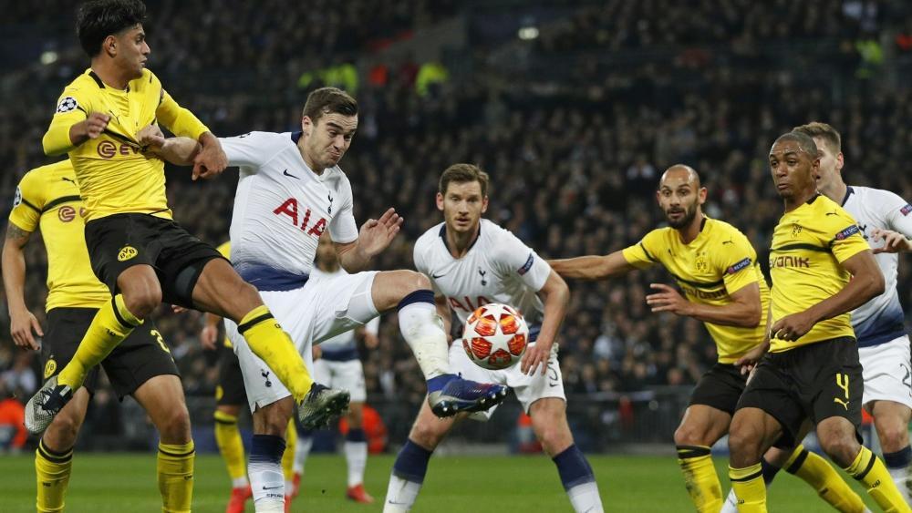 Tottenham Gegen Bvb: BVB In Der Champions League Gegen Tottenham Hotspur Nur