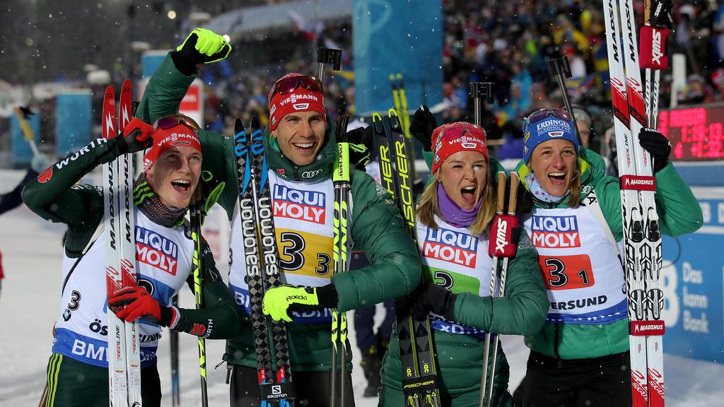Medaillenspiegel Biathlon Wm