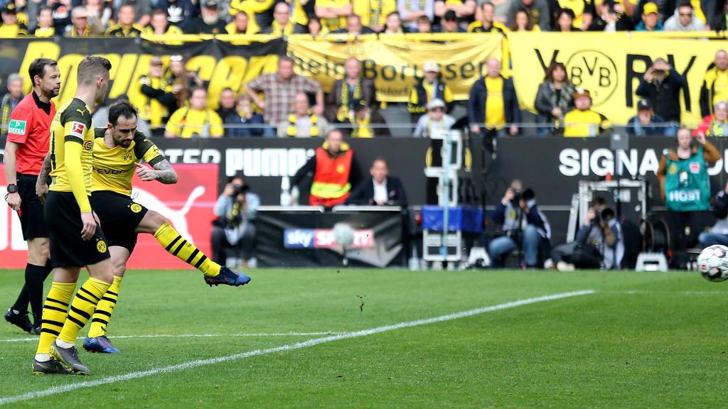 Paco Alcácer schoss den BVB zur Tabellenführung