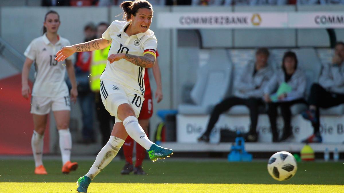 Dzenifer Maroszán will mit dem DFB-Team eine erfolgreiche WM spielen