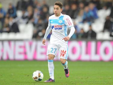 Maxime Lopez volvió a ser titular ayer con los marselleses. (Foto: Imago)