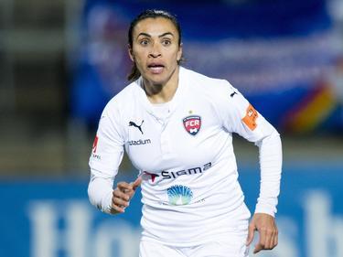 Marta con la camiseta del FC Rosengård sueco. (Foto: Imago)