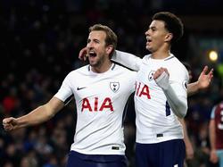 Harry Kane und Dele Alli gehören zu den Leistungsträgern der Spurs