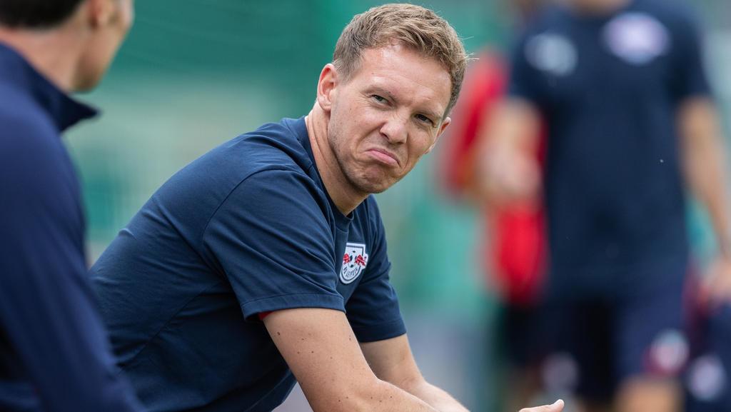 Verlor das erste Testspiel mit RB Leipzig: Julian Nagelsmann