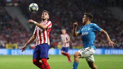 Herrera en un duelo Champions ante la Juventus.