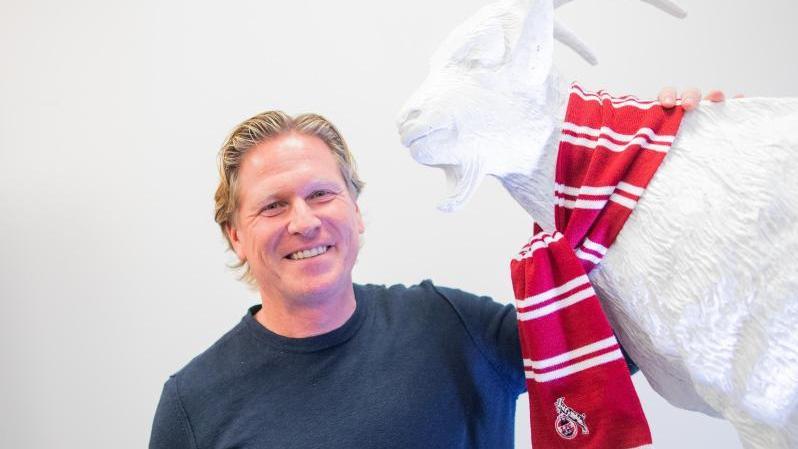 Markus Gisdol gibt am Samstag sein Deübt auf der Trainerbank des 1.FC Köln