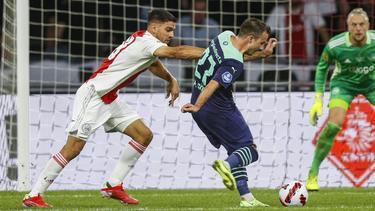 Mario Götze traf beim Erfolg gegen Ajax