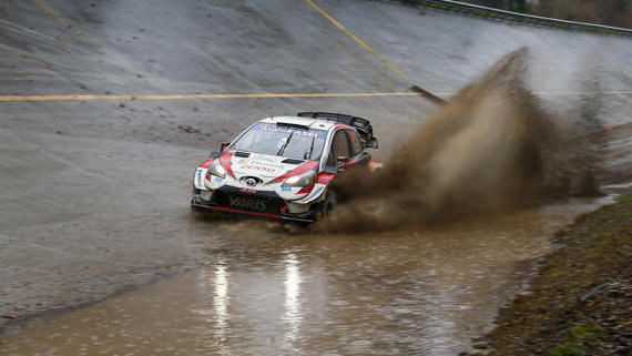 Auch in diesem Jahr jagen die WRC-Autos wieder durch die Monza-Steilkurven