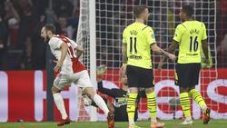Der BVB unterlag deutlich bei Ajax Amsterdam