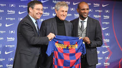 Quique Setien ist neuer Trainer des FC Barcelona