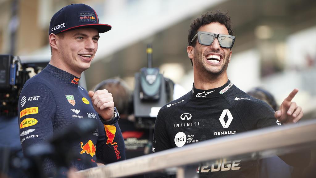 Max Verstappen (l.) weiß um die Stärken von Ex-Teamkollege Daniel Ricciardo