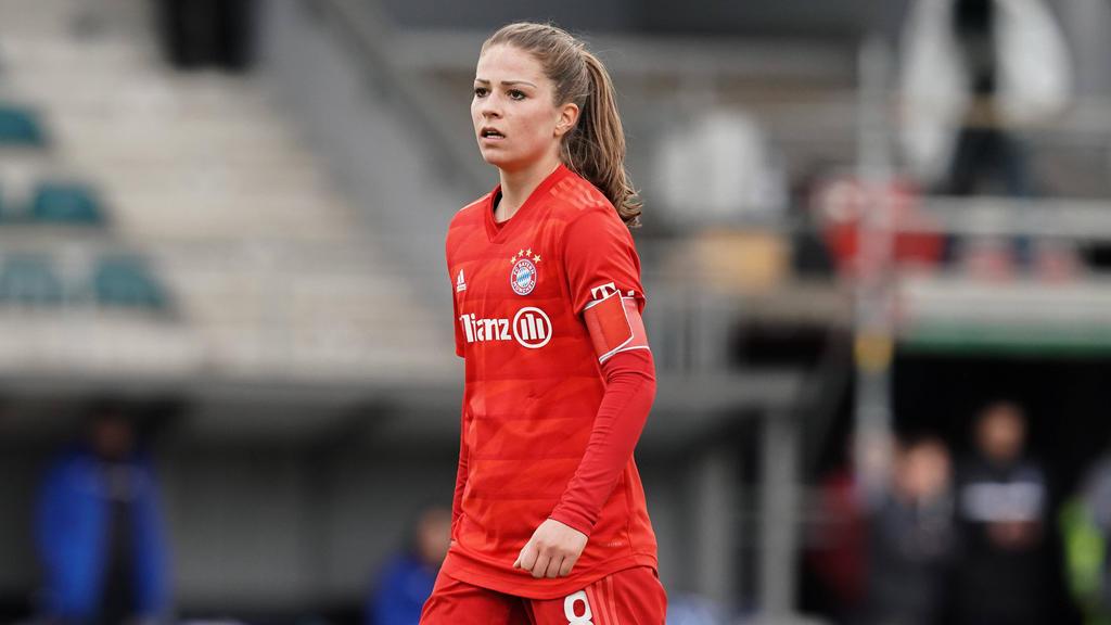 Melanie Leupolz vom FC Bayern hat große Zweifel an einer Wiederaufnahme der Saison