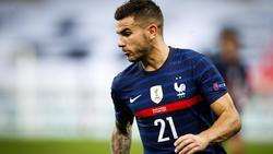 Feierte einen Sieg mit Frankreich: Lucas Hernández vom FC Bayern