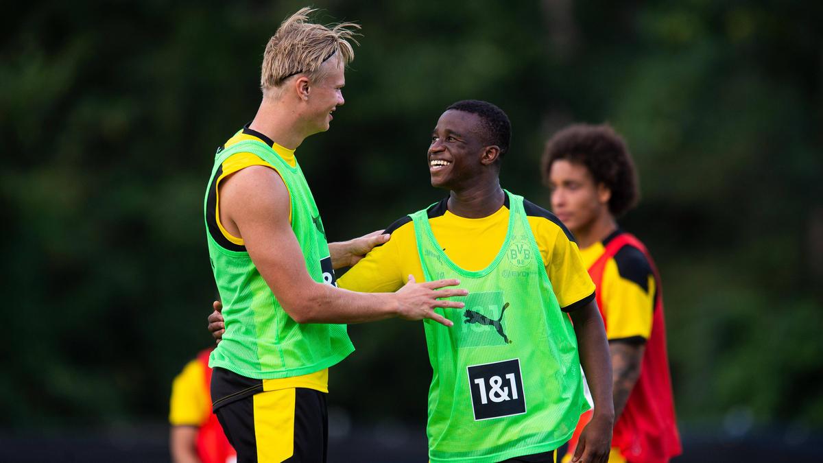 Mit Erling Haaland und Youssoufa Moukoko hat der BVB zwei Ausnahme-Talente