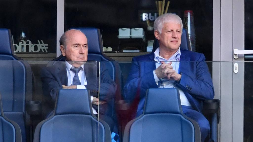 Sperre gegen Blatter (li.) wurde verlängert