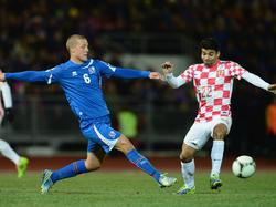 Teilerfolg für Island in den WM-Playoffs