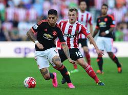 Marcos Rojo con el Manchester United. (Foto: Getty)