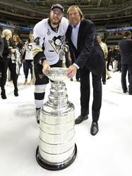 Der Stanley-Cup-Sieger und sein Vater